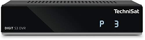 TechniSat DIGIT S3 DVR - hochwertiger digital HD Sat Receiver (HDTV, DVB-S/S2, PVR Aufnahmefunktion,...