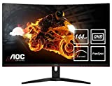 AOC Gaming C32G1 80 cm (31,5 Zoll) Curved Monitor (FHD, HDMI, 1ms Reaktionszeit, DisplayPort, 144 Hz, 1920 x...