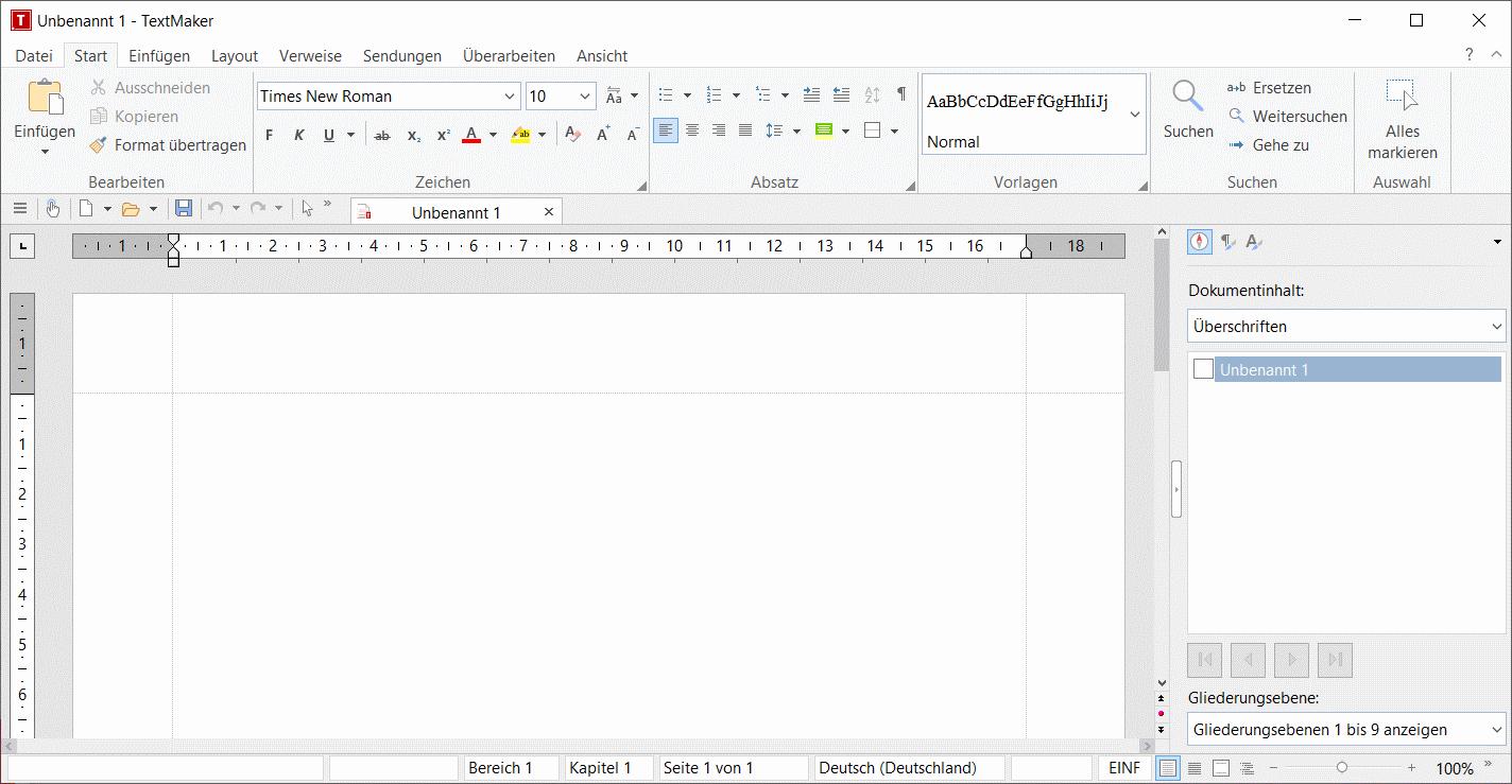 TextMaker als Microsoft Office Alternative