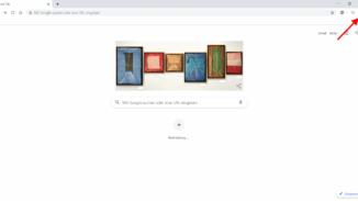 Dreipunkt-Menü im Google Chrome öffnen