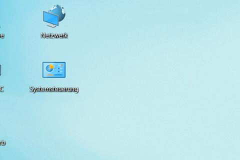 Desktopsymbole bei Windows 10