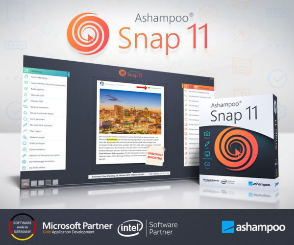 Ashampoo Snap 11 - Screenshot Tool