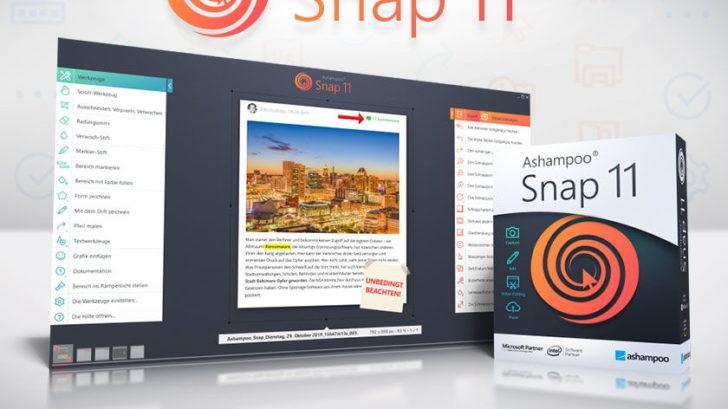 Ashampoo Snap 11 - Screenshot Tool