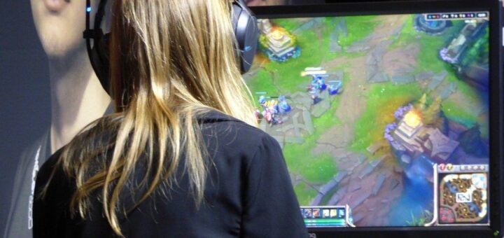 De Größe ist wichtig beim Gaming-Monitor