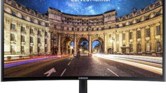 Samsung C24F396FHU 60, 9 cm (24 Zoll) Curved Monitor
