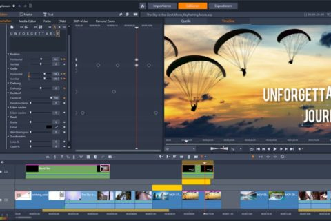 Titel-Editor Pinnacle Studio 24 Ultimate