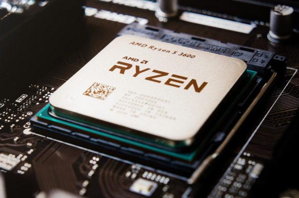 AMD Ryzen 5 auf Mainboard