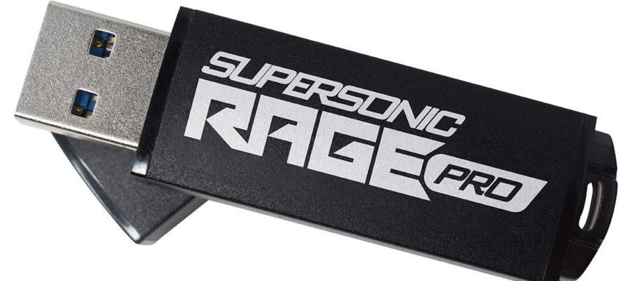 Supersonic RAGE PRO USB 3.2 Gen 1 Flash Drive