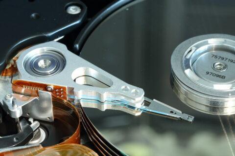 Datensicherung von einer beschädigten Festplatte