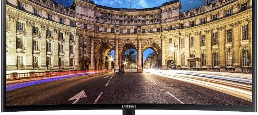 Samsung C27F398FWR Curved Monitor